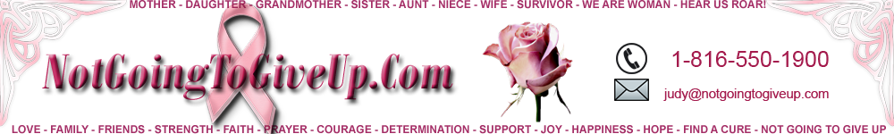 Pink Ribbon Breast Cancer Awareness Website 3
