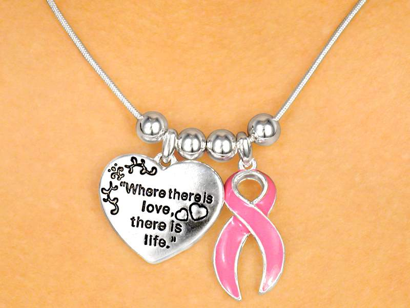 Where There is Love, There is Life Necklace & Earring Set
