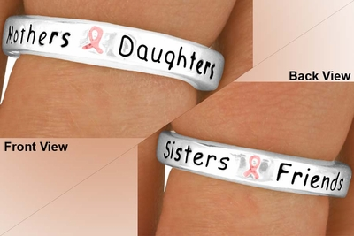 Mothers Daughters Sisters Friends Stretch Ring